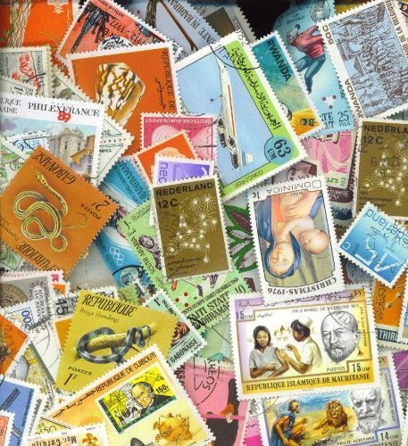 500 Worldwide All Different stamps