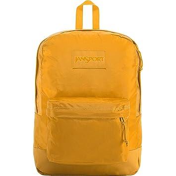JanSport Mono Superbreak Backpack - Lightweight School Pack | English  Mustard