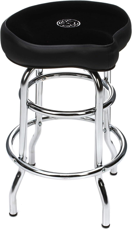 ROC-N-SOC Tower Saddle Seat Stool Black Short