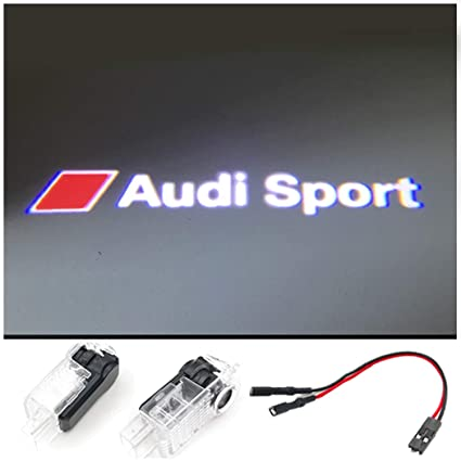 Amazoncom X AUDI SPORT Car Door LED Light CIRCLE Ghost Shadow - Circle audi