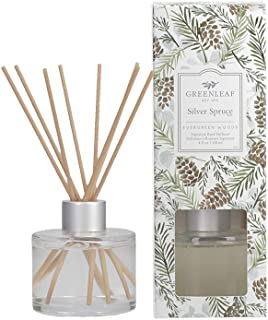 product image for Greenleaf Signature Reed Diffuser - Silver Spruce - Lasts Up to 30 Days - Made in The USA