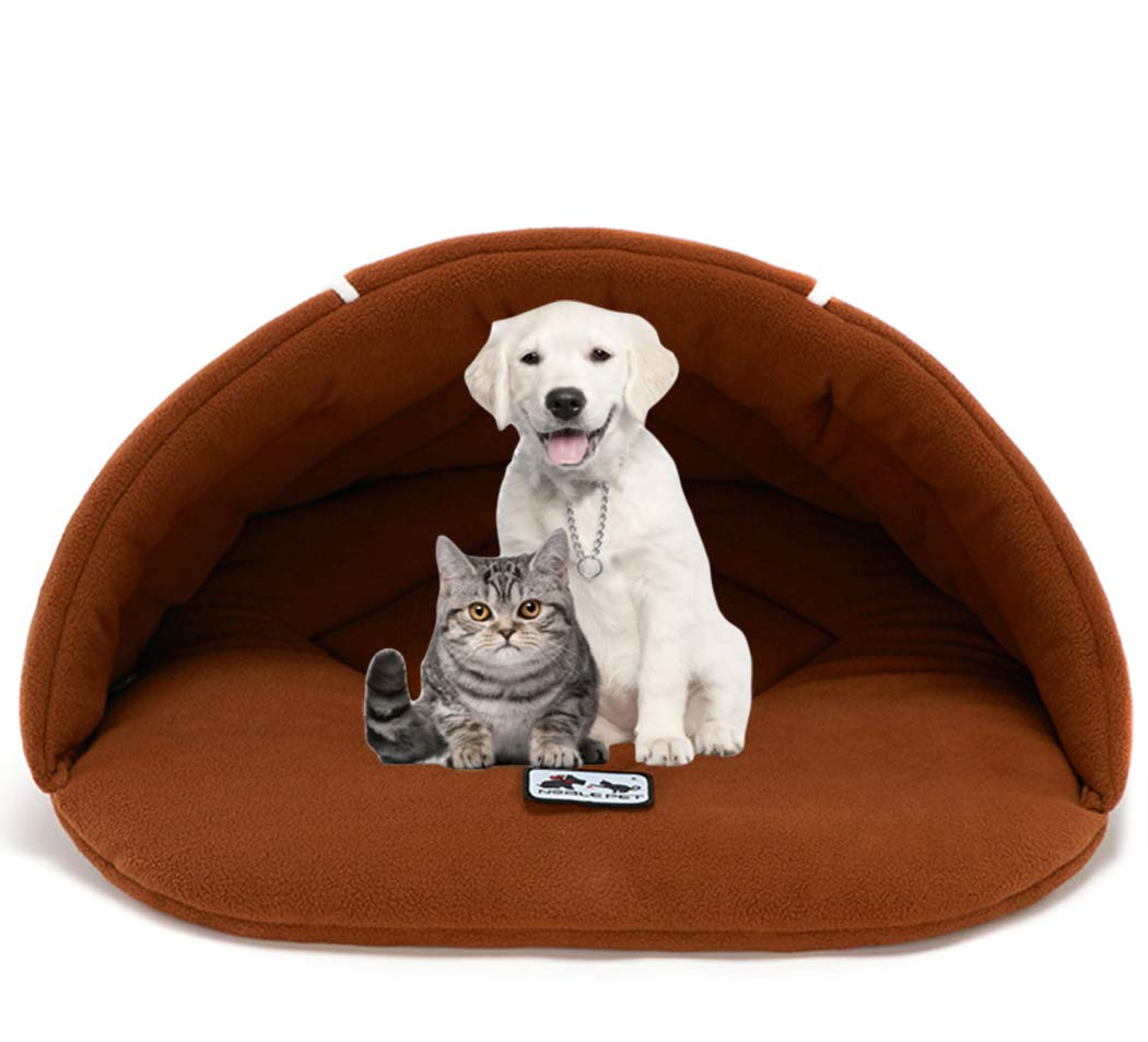 Amazon.com : Xiaoyu Winter Warm Pet Bed, Pet Cave, Dog Cave, Cat Cave, Dog Beds, Cat Beds, Dog Beds for Small Dogs, Grey, M : Pet Supplies