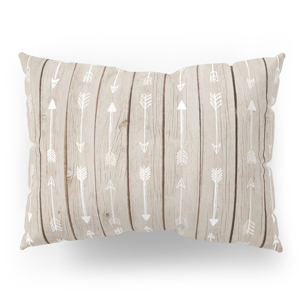 Society6 Tribal Wood Pillow Sham Standard (20'' x 26'') Set of 2