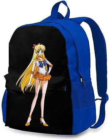 LIIREN Travel Laptop Backpacks for Womens Mens Blue Backpack Su/_rvi/_vo/_r