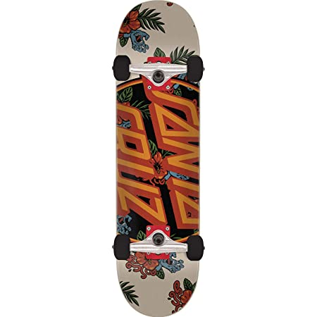 Santa Cruz Vacation DOT Skateboard Complete-7.5 Natural