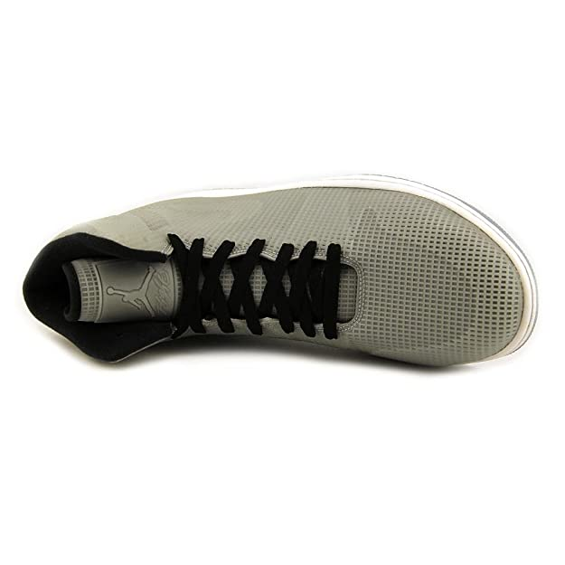 Amazon.com | Nike air Jordan 4LAB1 Mens hi top Basketball Trainers 677690 Sneakers Shoes (UK 10 US 11 EU 45, Glow Reflective Silver Black White 355) | ...
