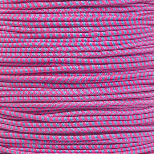 """1//16 PARACORD PLANET Elastic Bungee Nylon Shock Cord 2.5mm 1//32 3//8 1//4 1//2 inch Crafting Stretch String 10 25 50 /& 100 Foot Lengths Made in USA 3//16 1//8/"""" 5//16 5//8"""