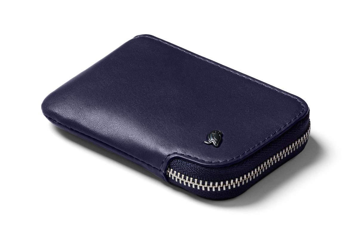 Bellroy Leather Card Pocket Wallet (Max. 15 cards and bills) - Navy