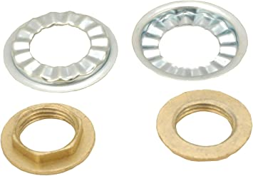 Amazon Com Faucet Locknut With Rosette Washer By Plumbusa Home Improvement