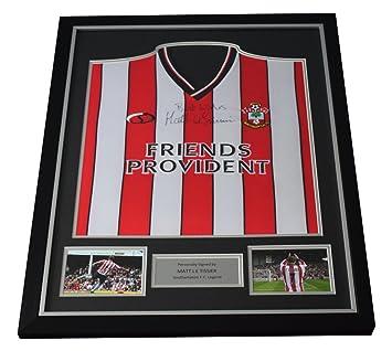 c6c56bcdc Sportagraphs Matt le Tissier SIGNED FRAMED Shirt Photo Autograph Southampton  Football COA PERFECT GIFT  Amazon.co.uk  Sports   Outdoors