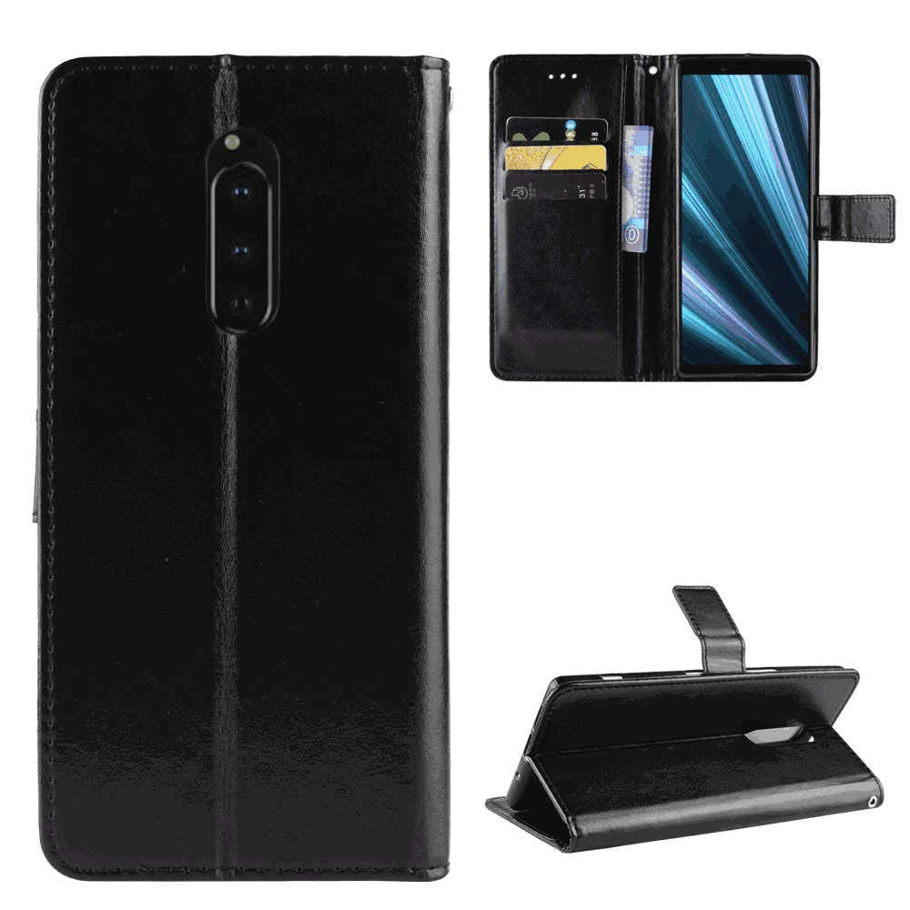 Flip Case for Samsung Galaxy A10E Luxury Leather Bussiness Phone Case Cover for Bussiness Gifts with Free Waterproof Case