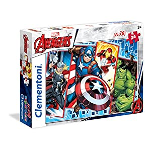 Clementoni The Avengers Supercolor Puzzle 24 Pezzi 24495