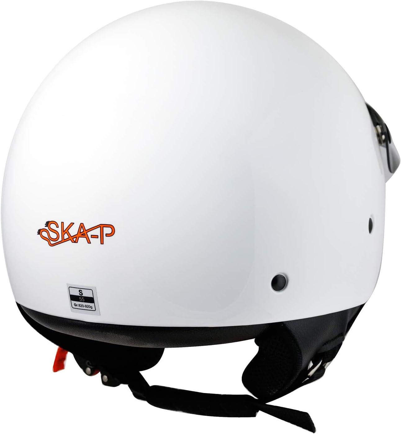 Demi Jet Helmet SKA-P 1FH SMARTY XS 53-54cm Black