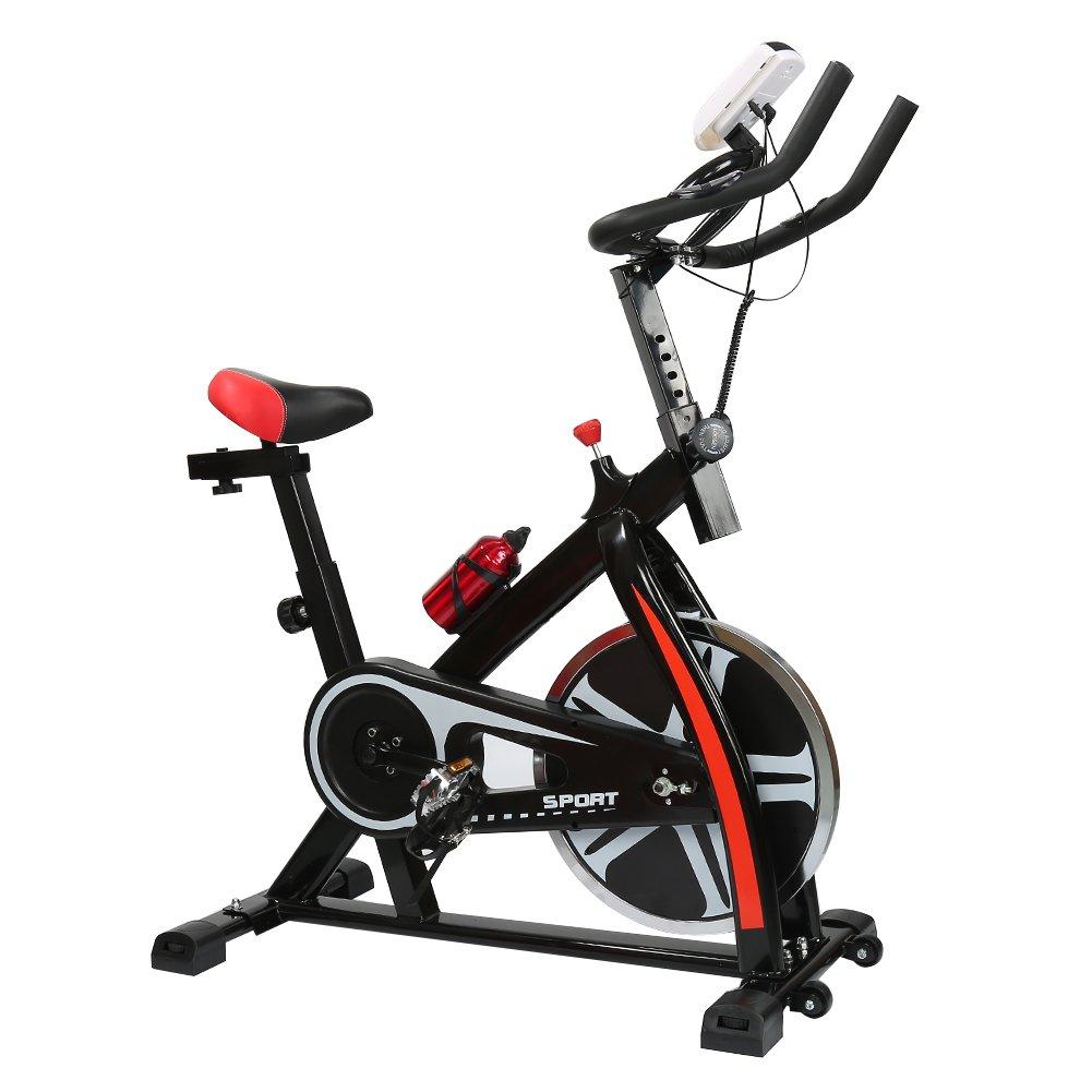 POPSPARKk traditionelles indoorcycling bikes Spinning Fahrrad mit Blautooth für zuhause Fitness Fahrrad mit einem Platz für Trinkbecher