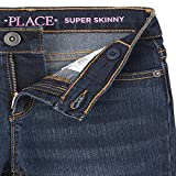 The Children's Place Girl's Super Skinny Jeans, Dk