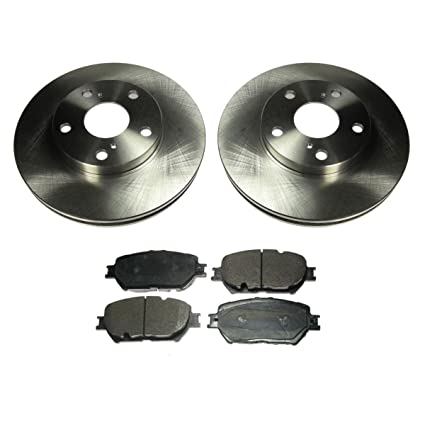 Amazon com: Brake Pad & Rotor Front Premium Posi Ceramic Kit for 02