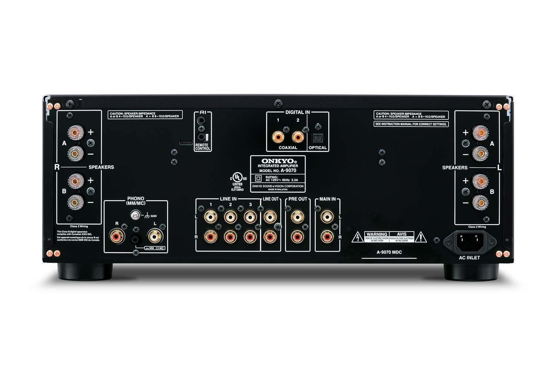 kyo A 9070 Stereo Verstärker 2x 140 Watt AWRAT DIDRC 3