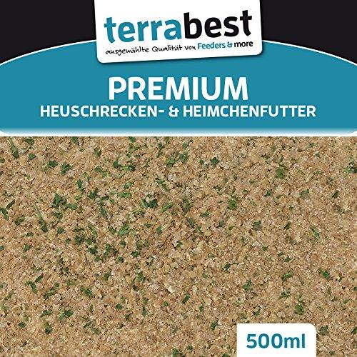 Heuschrecken & Heimchen Futter Insektenfutter Heimchenfutter, Heuschreckenfutter (EUR 5,98 / L) Feeders & more