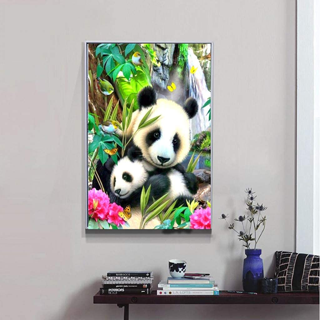 MOTOCO Full Drill DIY 5D Diamond Painting Embroidery Cross Crafts Stitch Kit Home Decor A:Maternal Love