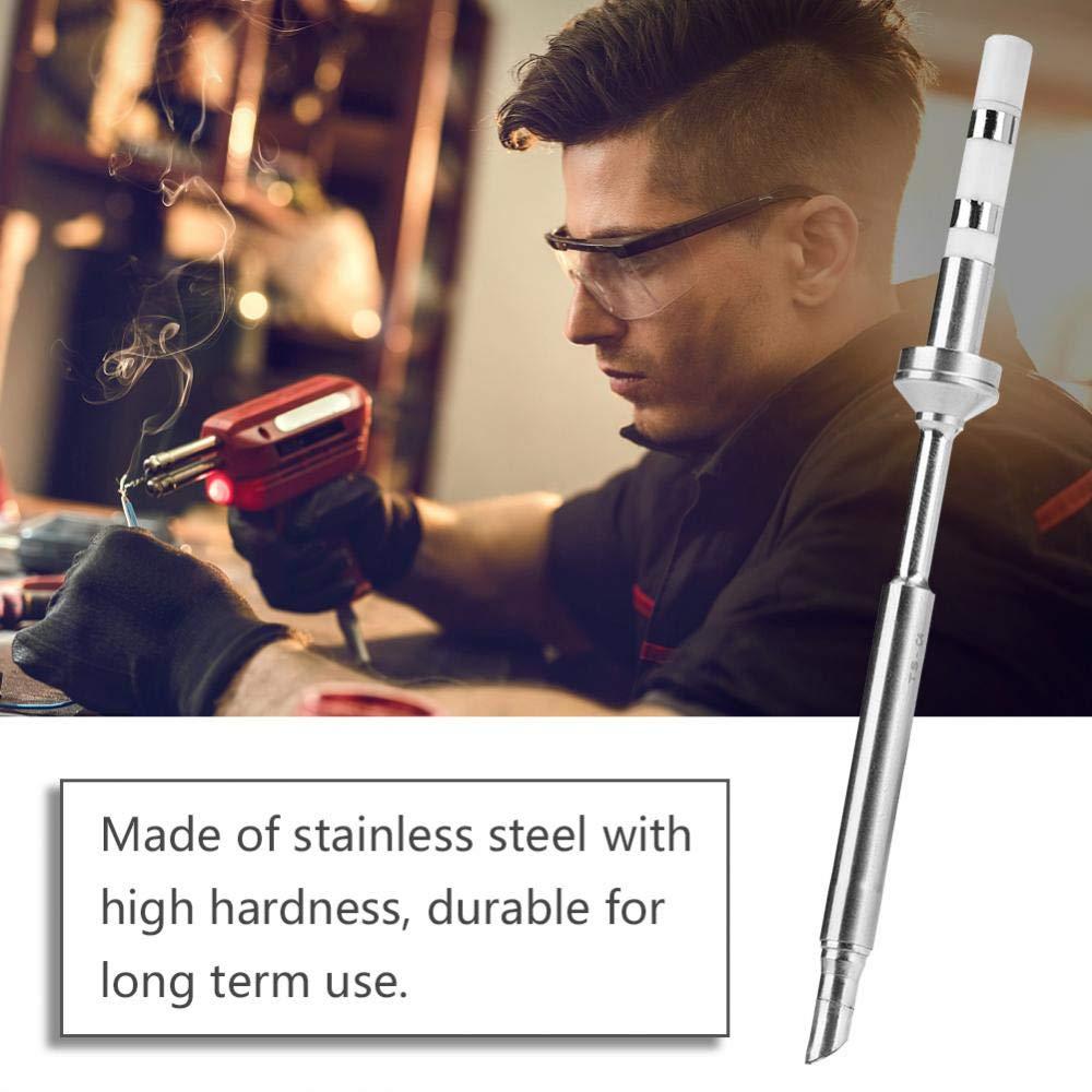 TS-C4 7 Arten Mini Edelstahl L/ötkolben Tipps Ersatz f/ür TS100 L/ötkolben