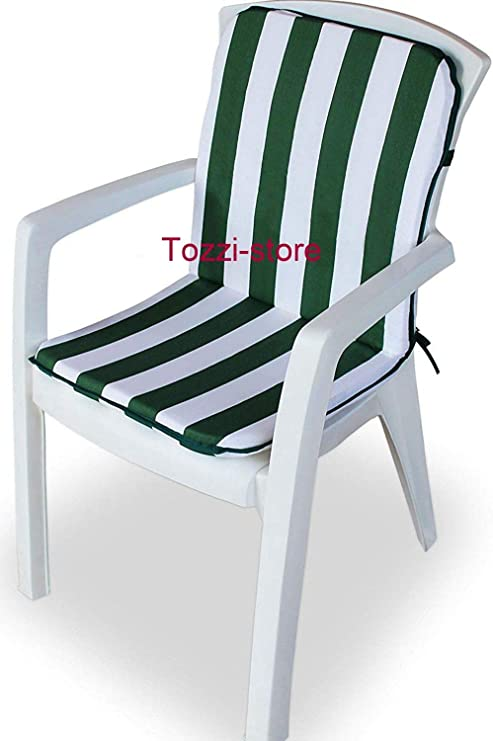 Tozzi-store - Cojín para Silla de jardín (45 x 90 cm): Amazon.es: Jardín