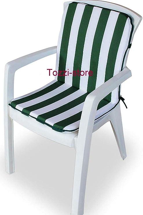 Tozzi-store - Cojín para Silla de jardín (45 x 90 cm ...