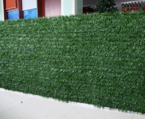 Synturfmats Artificial Hedge Slats Panels For Chain Link Fencing Outdoor Faux He Ebay