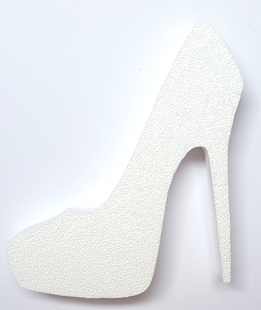 Amazon.com  High Heel Stiletto Shoe (Unfinished White
