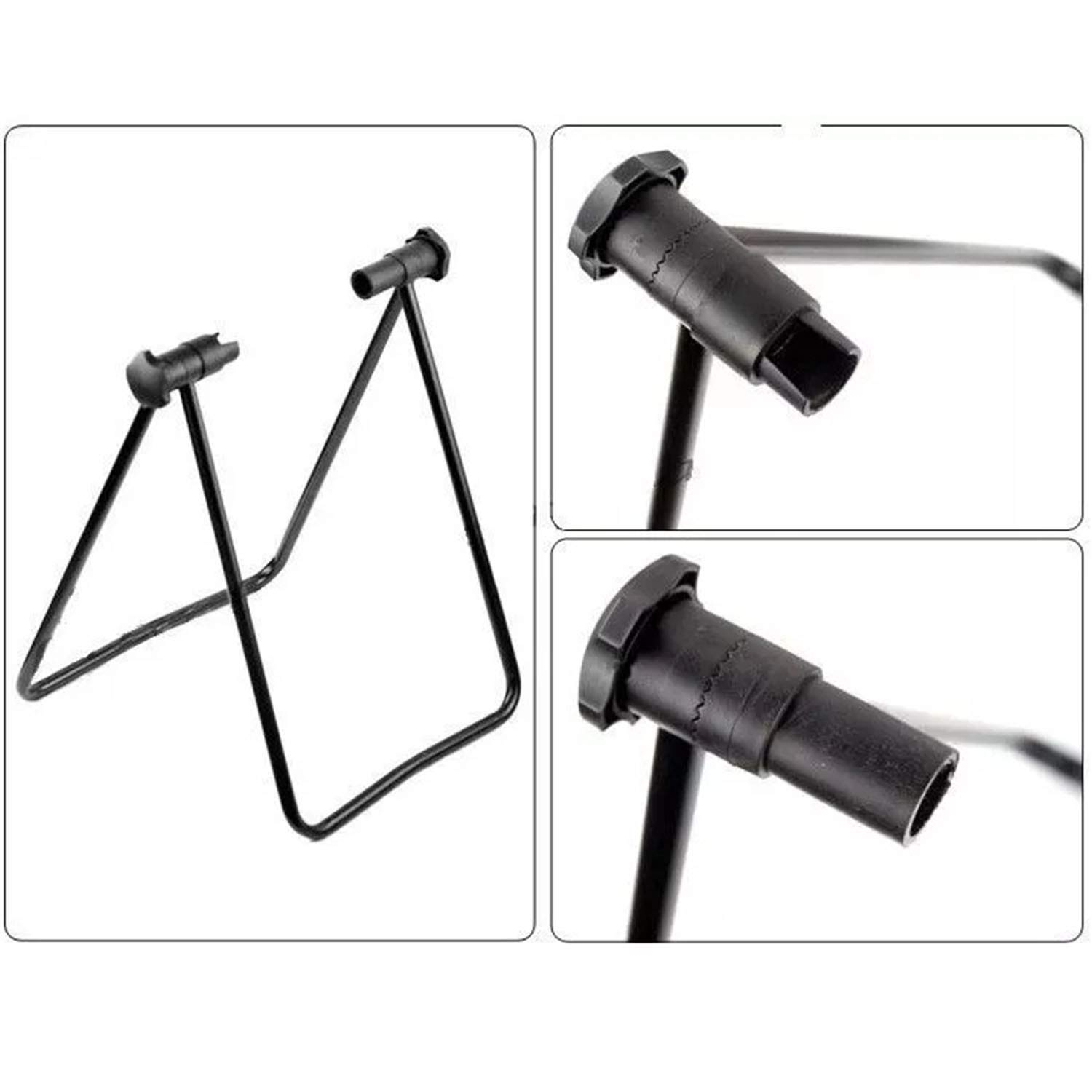 Your only family Practical U-Shaped Bicycle Parking Rack Mountain Bike Bracket Bicycle Display Stand Maintenance Rack Sample Support Frame Durable by Your only family (Image #2)
