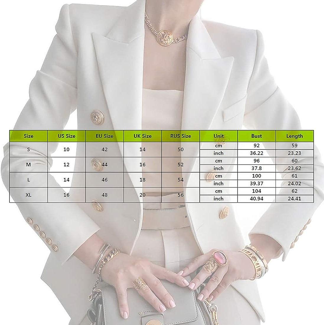 Giacca Da Donna Blazer Slim Fit Elegante Per Ufficio A Maniche Lunghe Alla Moda Dihope Casual Giacche Da Abito E Blazer Abbigliamento