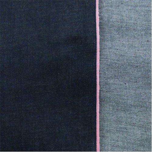 Deep Midnight Blue Cotton Slub Japanese Selvedge Denim, Fabric by The - Blue Cloth Deep Denim