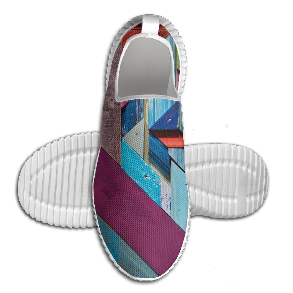 Amazon.com  Doppyyee New Hit Color Wood Funky Walking Shoes  Home   Kitchen dd52b4f8a