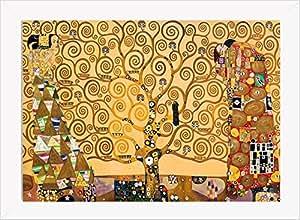 Lámina con diseño de El Árbol de la Vida de Gustav Klimt
