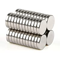 مغناطيس مصنوع من النيوديميوم فائق القوة 50 قطعة 5 × 1 ملم من بيستبيكس