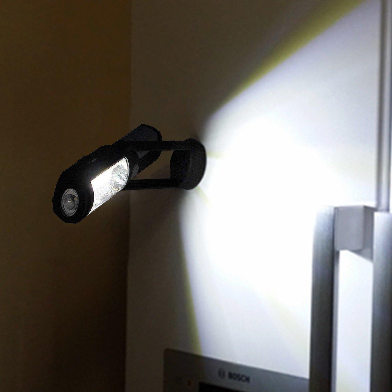 LED Luz de trabajo 3W COB L/ámpara giratoria  de inspecci/ón Prozor  PST074 1W LED