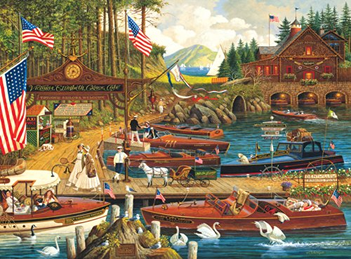 Buffalo Games - Charles Wysocki - Lost in the Woodies - 1000 Piece Jigsaw Puzzle