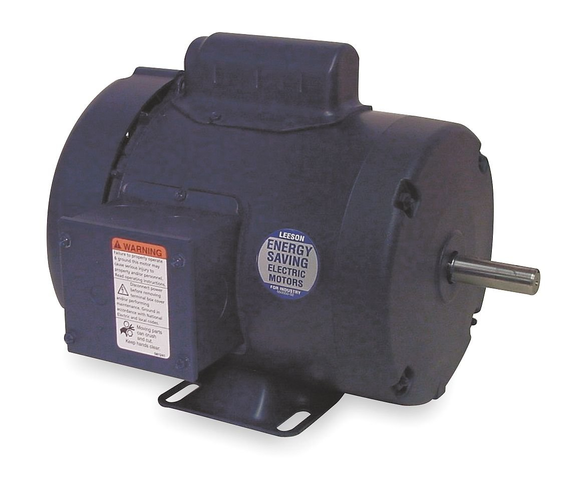 50Hz Fequency Rigid Mounting 56H Frame Leeson 110066.00 Rigid Base Special Voltage Motor 1HP 110//220V Voltage 1 Phase 1500 RPM