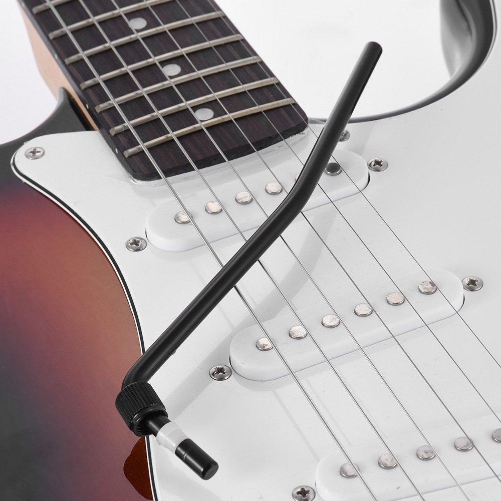 ammoon Guitarra Eléctrica Trémolo Trem Vibrato Brazo Whammy Bar manivela Palanca para Floyd Rose puente System, negro: Amazon.es: Instrumentos musicales