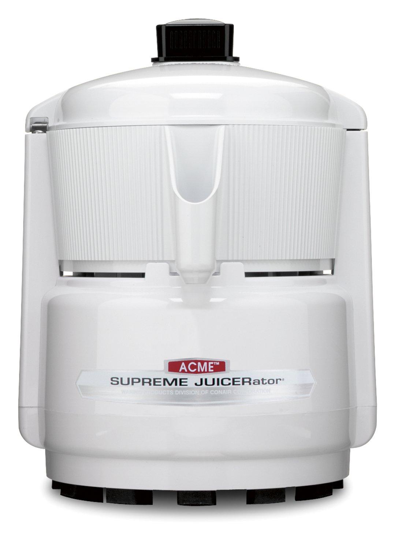 Amazon.com: Acme 5001 Juicerator 550 Watt Juice Extractor, Quite White:  Electric Centrifugal Juicers: Kitchen U0026 Dining