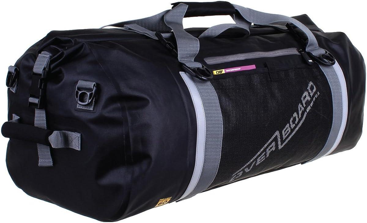 OverBoard wasserdichte Duffle Bag 40 Liter Schwarz OB1150BLK Outdoor Reisetasche