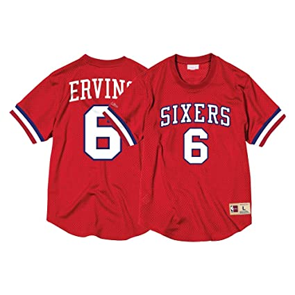 timeless design 89604 9b39e Amazon.com : Mitchell & Ness Julius Erving Philadelphia ...