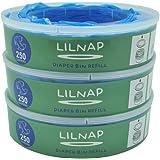 LILNAP - Ricarica compatibile per Mangiapannolini Maialino Angelcare (3 ricariche)