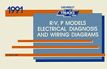 bishko automotive literature 1991 chevrolet r v p truck electrical wiring  diagrams schematics mechanic book