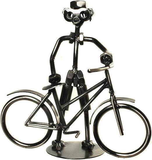 Deko bicicleta ciclista quemar Tornillo (bicicleta de metal para dinero regalo bicicleta o como regalo divertido, pequeño regalo para ciclista: Amazon.es: Juguetes y juegos