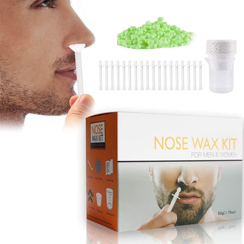 MQSS Nose Wax - Kit Depilación Nariz, Cera de depilación Nasal ...