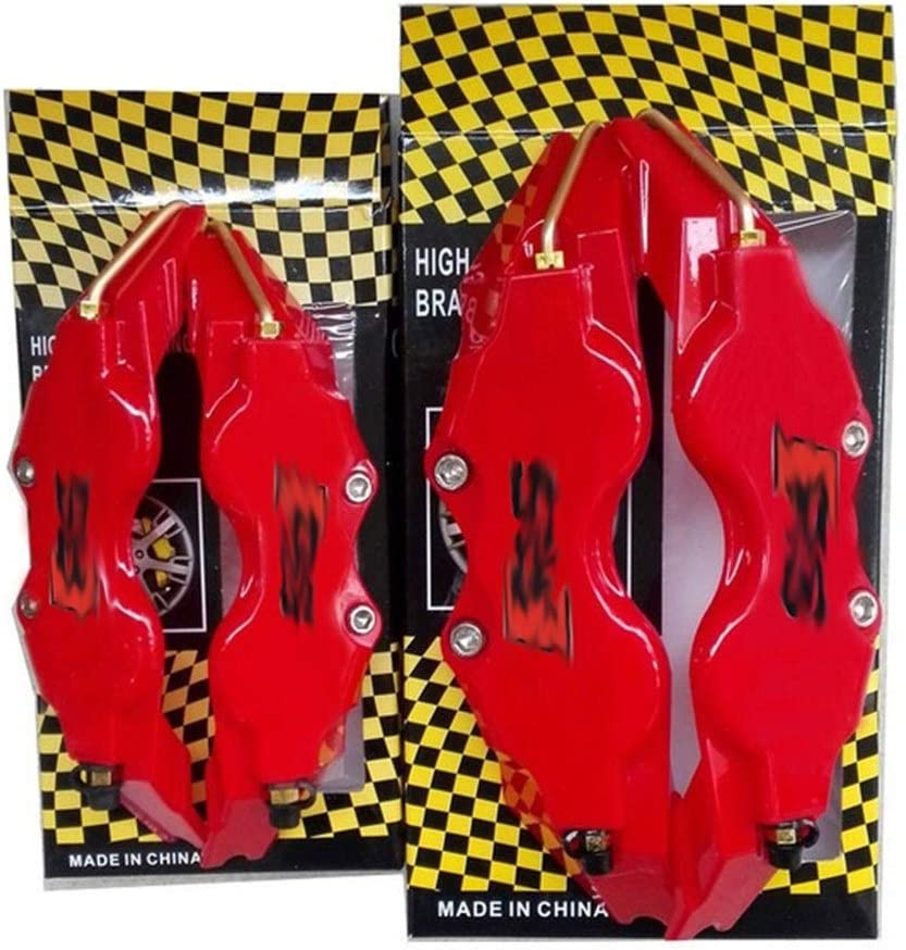 Color Name : Red RS Couvercles de l/étrier ABS en plastique avec loriginal disque /Étrier de frein Covers Taille L//M Fit for AUDI A3 S3 A4 A5 S5 A6 S6 A7 S7 A8L Q7 TT TTS A1 S8 Q2 Q3