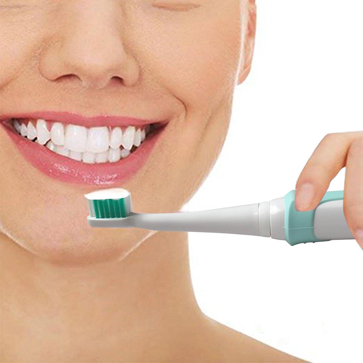 MXIN Spazzolino da Denti Elettrico con 3 Teste di spazzolatura