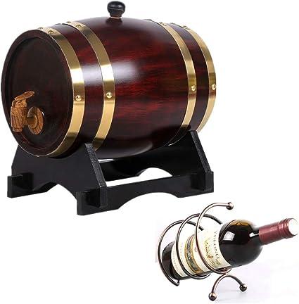 NACK Oak Aging Barrel 1.5L, Bar Restaurante Barril de Madera ...