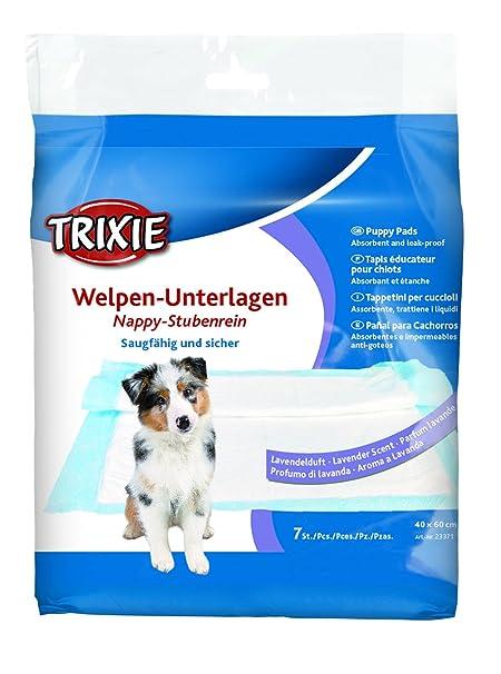 Trixie pañal cachorro 7 Pad con lavanda, 60 x 40 cm, pack de 10