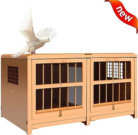DXIUMZHP Jaula pajaros Jaula para pajaros Jaula Grande Y Pequeña Nido De Pájaro Al Aire Libre
